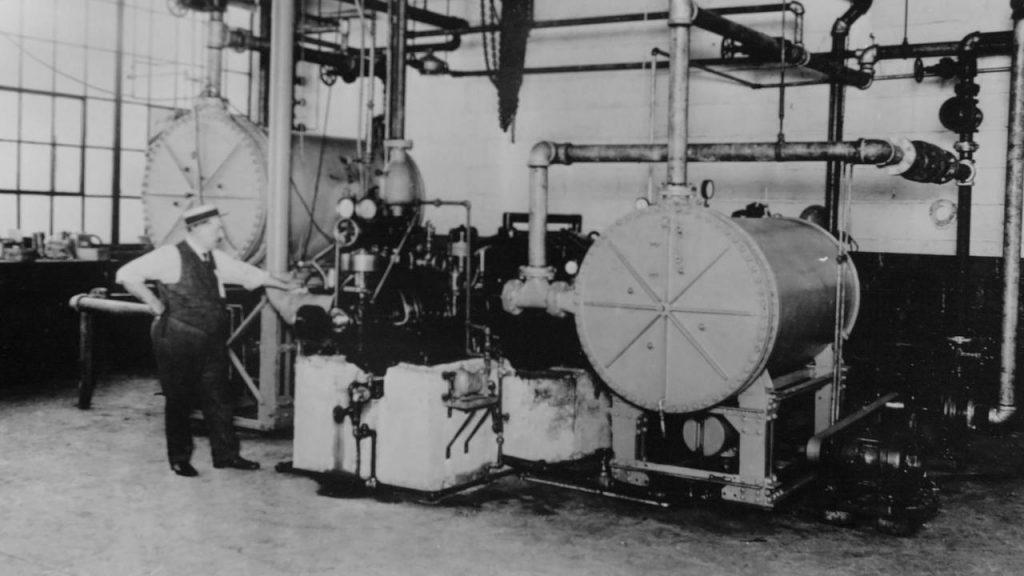 Mesin Pendingin Sentrifugal Willis H Carrier New York 1922 Carrier Corporation