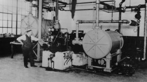 Mesin Pendingin Sentrifugal Willis H Carrier New York 1922 Carrier Corporation