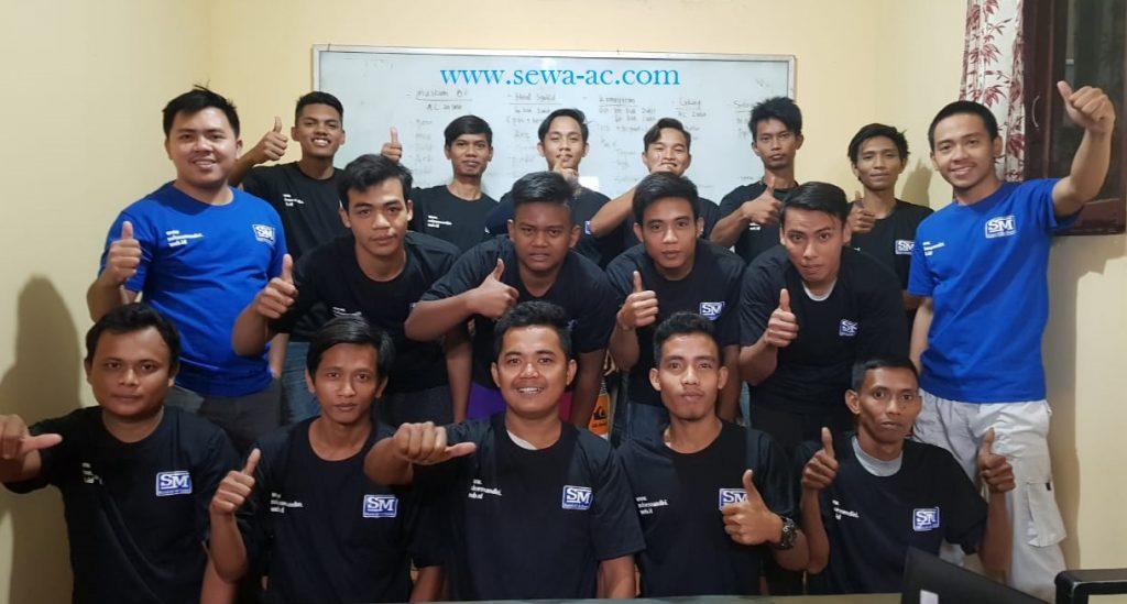 Team Rental AC Standing Sukses Mandiri