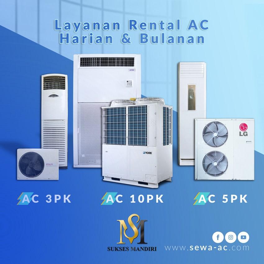 Layanan Rental AC Standing