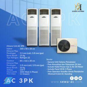 Rental AC 3PK