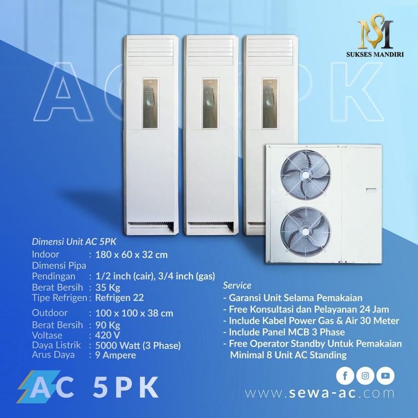 Rental AC 5 PK